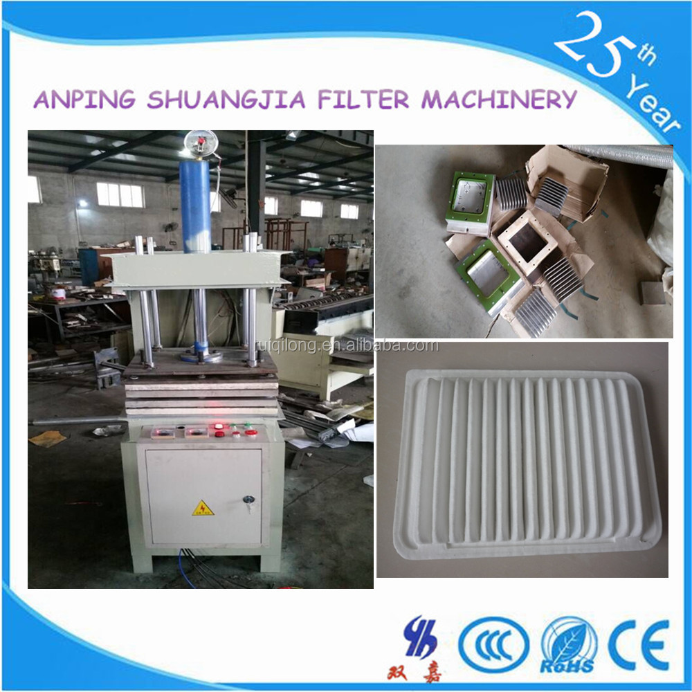 26 years factory car air filter making machine for toyota 17801