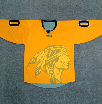 custom oem sublimated reversible ice hockey jerseys