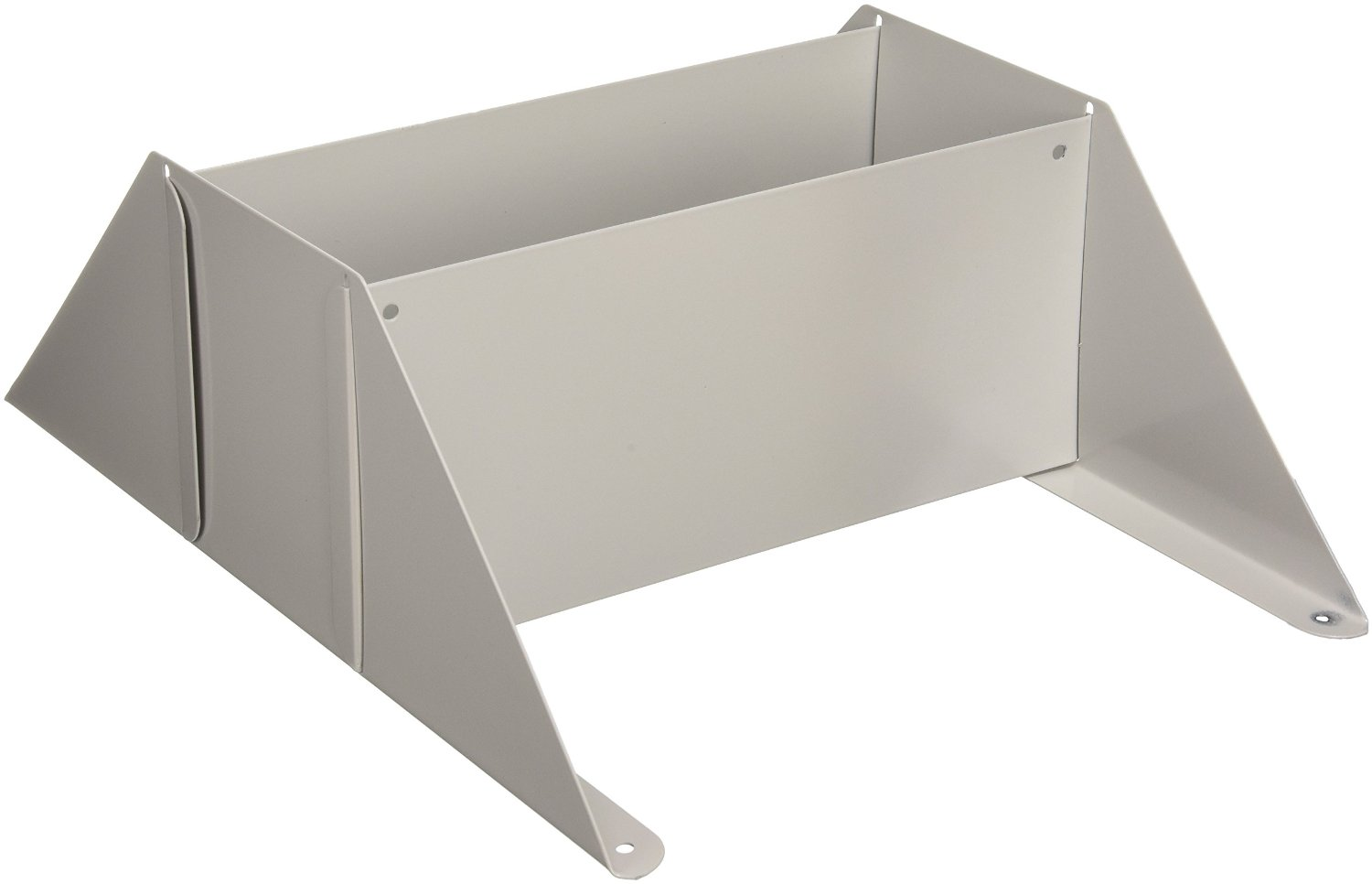 Buddy Products Base for Single Unit Display Racks, Steel, 10 x 12.13 x 4.88 Inches, Platinum (0817-32)