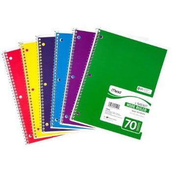 China Office Supply Custom Printed Spiral Note Book