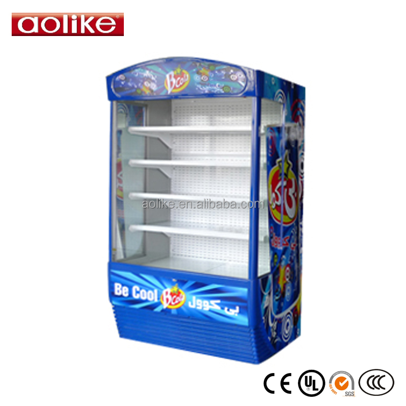 New Commercial Refrigerator for Fruits and Vegetables Used Supermarket Open Chiller for sale
