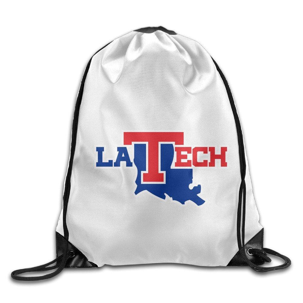 CGH Seven Louisiana Tech University Bulldogs Perfect Training Gymsack For Men And Women For School Gym Sport Running White