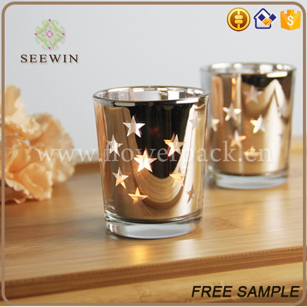 wholesale decorative delicacate festival crystal candle