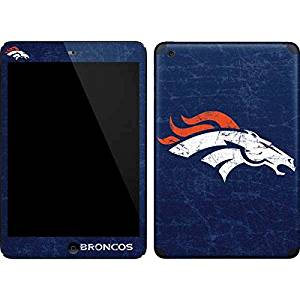 NFL Denver Broncos iPad Mini (1st & 2nd Gen) Skin - Denver Broncos - Distressed Vinyl Decal Skin For Your iPad Mini (1st & 2nd Gen)