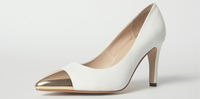 White high quality high heel steel toe women shoes fashion ladies high heel shoes supplier cheap women pumps heels factory