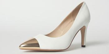 White High Quality High Heel Steel Toe Women Shoes Fashion Ladies ...