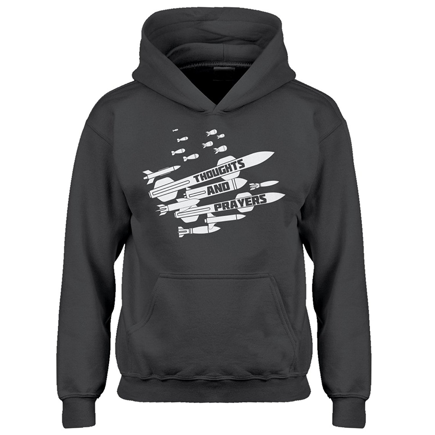 Indica Plateau Thoughts and Prayers Kids Hoodie