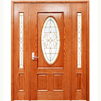 All kind of villa entrance wood design door for sale supplier in China