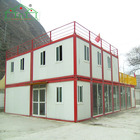 Detachable recycled material container houses of other real estate
