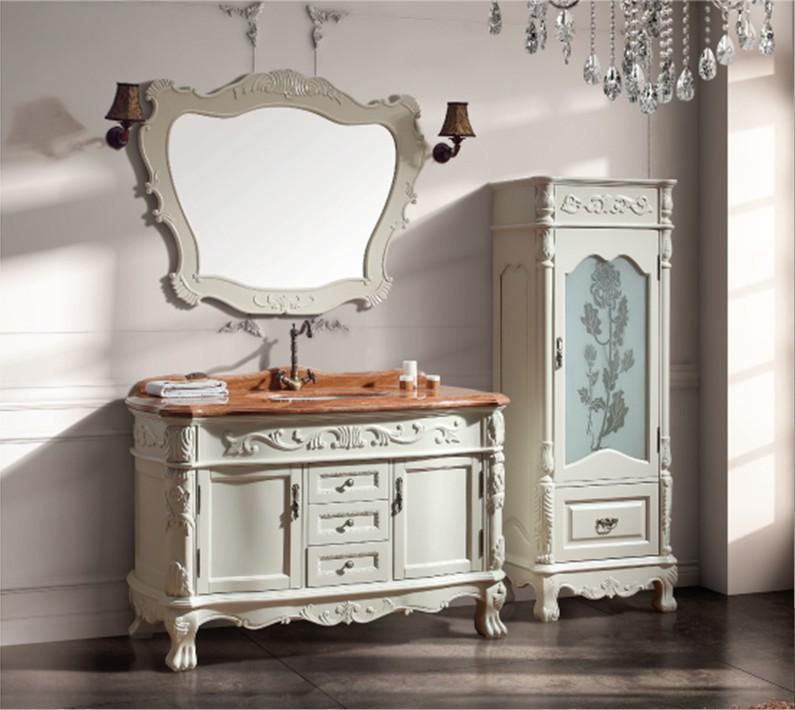 meuble de salle de bain antique. Black Bedroom Furniture Sets. Home Design Ideas