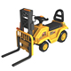 Large Size Construction Kids Ride On Truck Children Toys Car