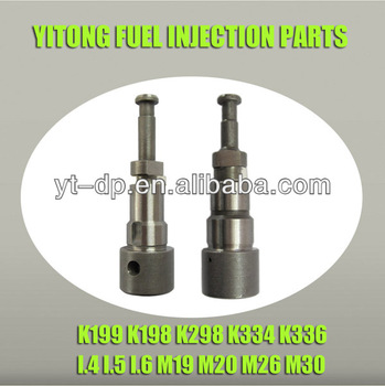 Fuel Pump Element Plunger Pistons K199 K198 K298 K334 K336 - Buy Fuel Pump  Element Plunger Pistons K199 K198 K298 K334 K336,Fuel Pump Element Plunger