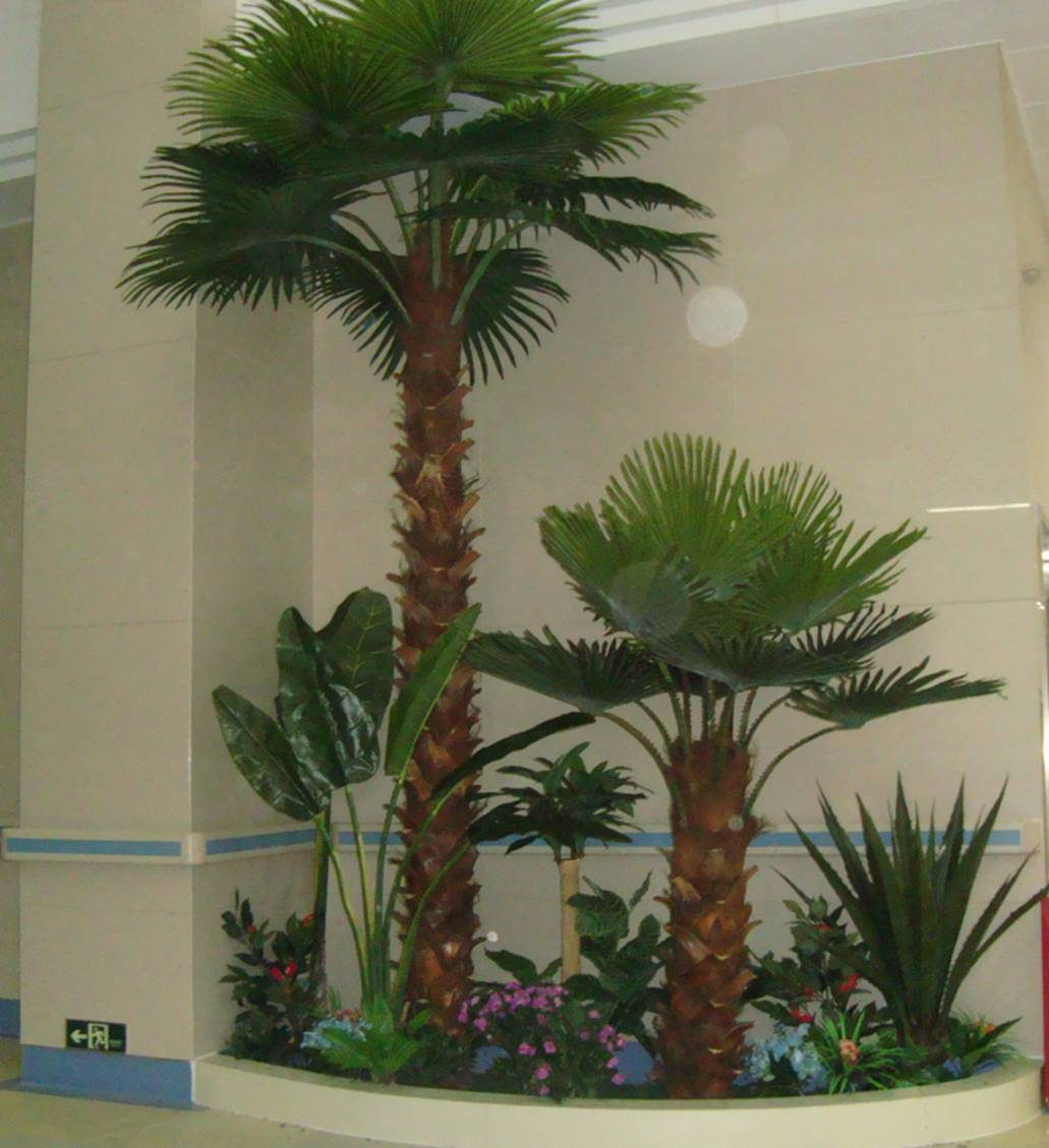 new product high quality artificial palm tree plant /fake coconut on sale New Product High Quality Artificial Palm Tree Plant
