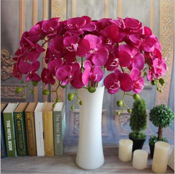 China wholesale artificial silk orchid silk flowers artificial china wholesale artificial silk orchid silk flowers artificial wedding wall decoration mightylinksfo Image collections