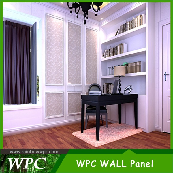 2016 Interior fake wooden hot stamping PVC wall panel PVC ceiling with good price
