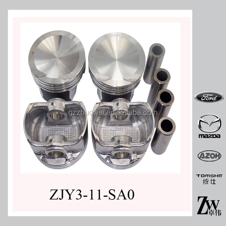 China STD 1300cc MAZDA 2 ZJY3-11-SA0 Car Engine Small Pistons