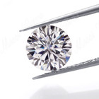 3.0 mm colorless DEF moissanite diamond factory price per 0.1 carat moissanite