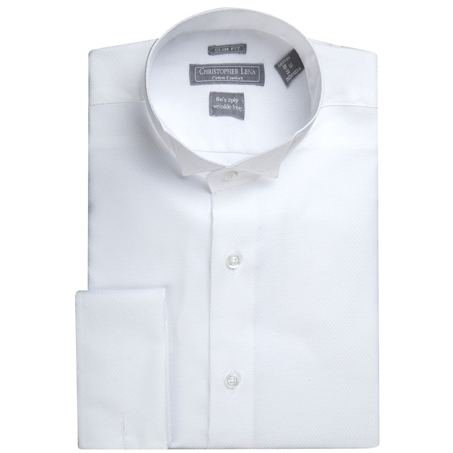 82138b283 Dress Shirts Slim Fit Wing Collar – EDGE Engineering and Consulting ...