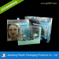 High quality clear PVC plastic cosmetic folding box for packaging