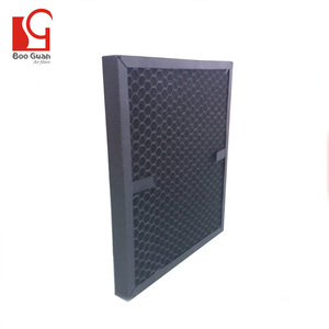 Factory provide honeycomb type activated carbon fiber filter air