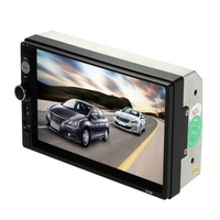 2 DIN 7 Inch car video player Bluetooth Touch Screen Car monitor Car stereo double din MP3 MP5 Player USB Support