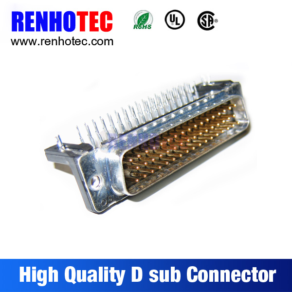 50 Pin D-Sub male PCB-mounting DD50 connector D-SUB High Density 50Pins Connector/Various Male Solder Cup Connector