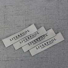 Custom made Fancy Clothing labels Woven Labels Garment Labels wholesale