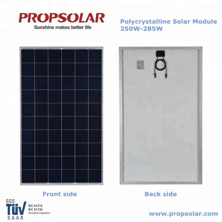 High Efficient 48v 450w 480w 500 Watt Single Solar Panel