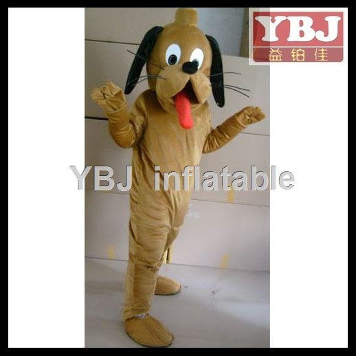 commercial lovely puppy mascot costume/cartoon dog costume