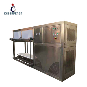 ice plant use industrial modular design energy saving automatic ice harvest system big capacity direct cooling ice block machine