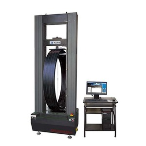 electronic power testing machine tube pipe ring crush testing equipment/pipe ring stiffness testing machine