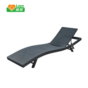 Professional Furniture Making Factory picnic time table and chair pool side bed rattan outdoor furniture