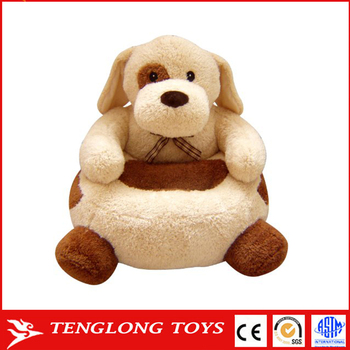 Wholesale Custom Cartoon Baby Soft Animal Plush Chair For Children - Animal-chairs-for-children