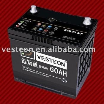Best Korean Car Dry 12v Batteries