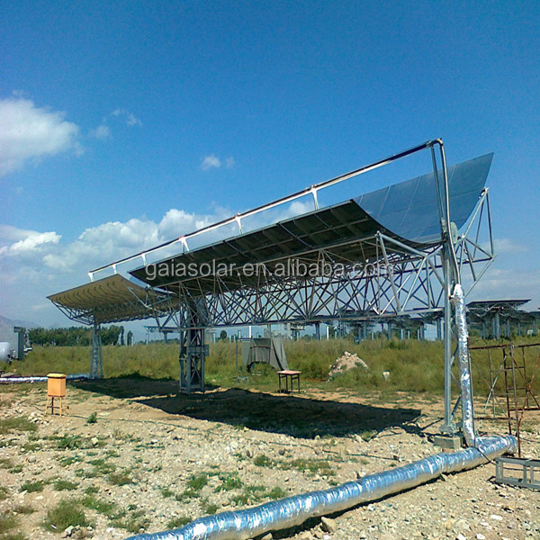 CSP steam generator parabolic solar concentrator