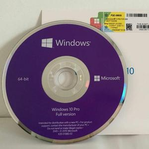 Professional OEM 64-Bit DVD Package English Operating System Software key license 100% Useful for windows 7/8/10