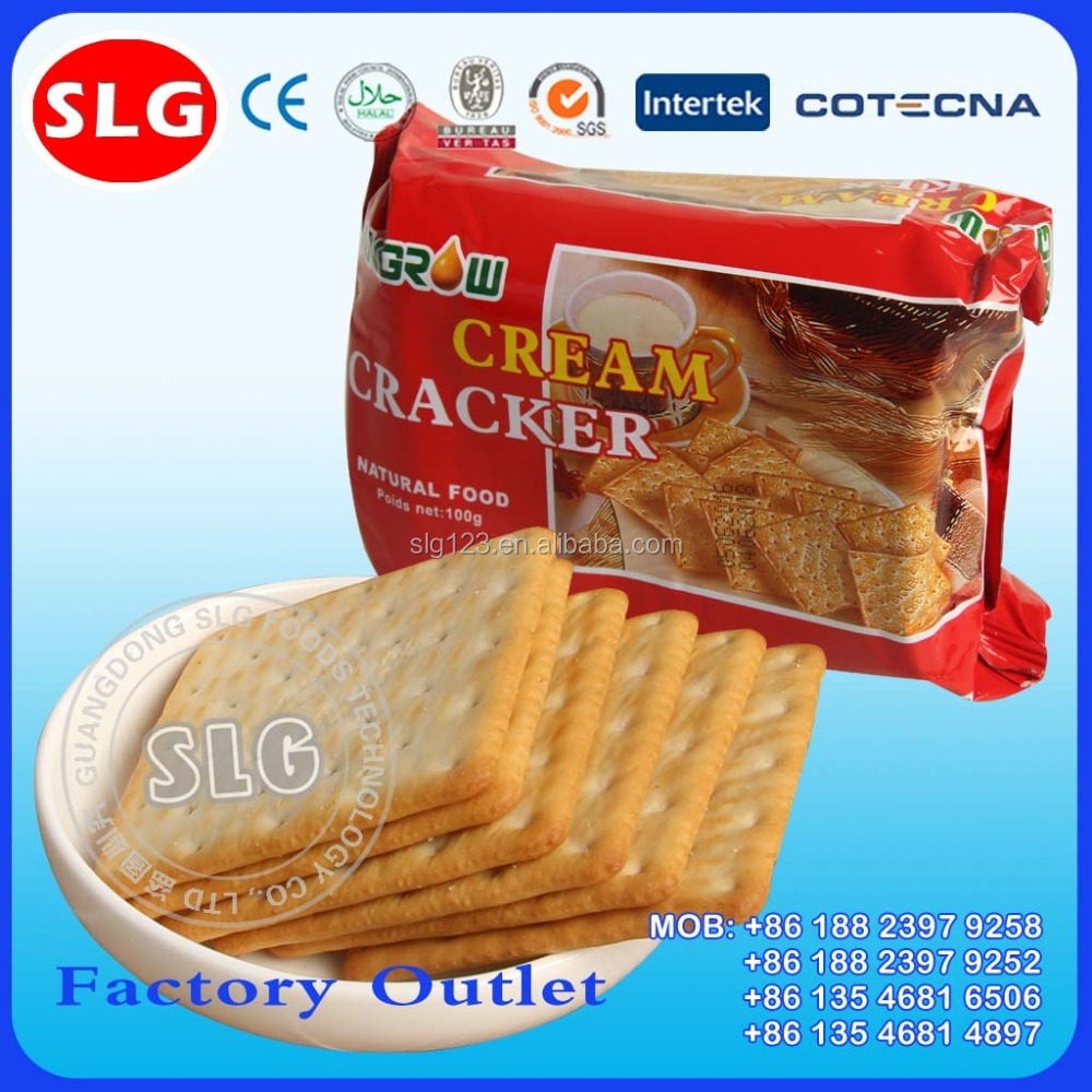 100g crispy biscuit cream cracker