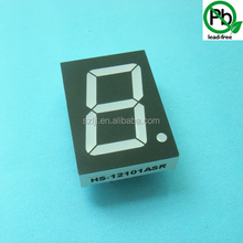 Customized led display single digit 7 segment one digit display