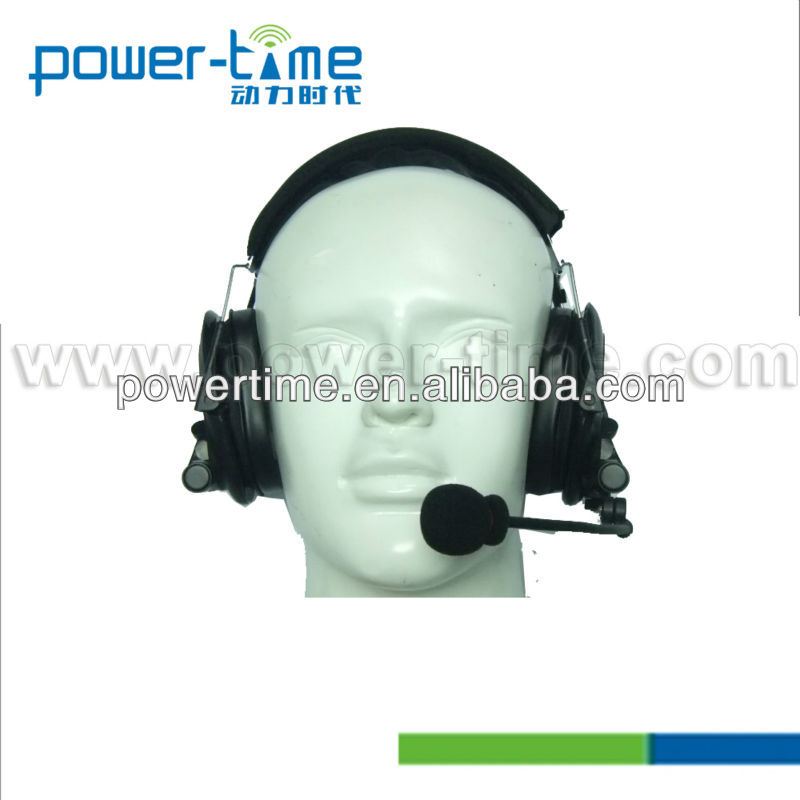 High Noise-Cancelling Headphones with monitor functionality for hunting, shooting