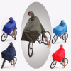 Blue 190T Nylon Fabric Mexican Waterproof Breathable E-scooter Bicycle Rain Poncho With Sleeves