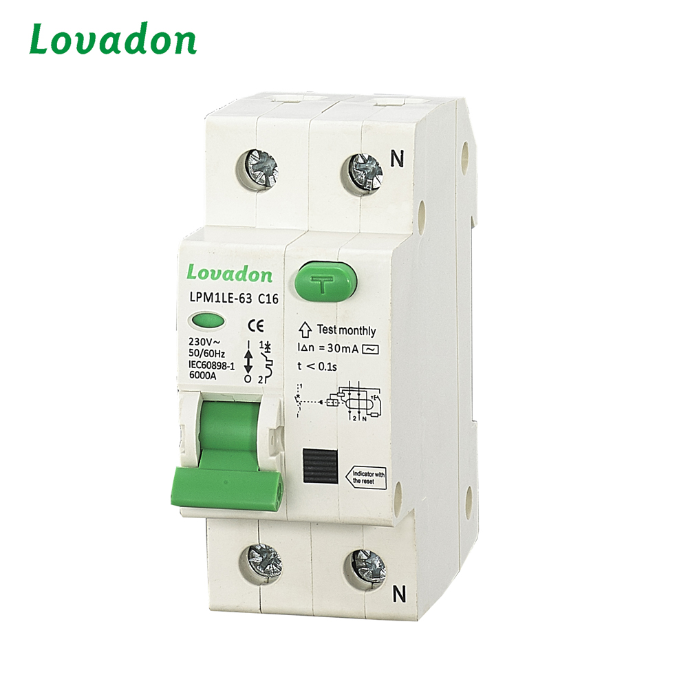 China Cheap Price RCCB Automatic Circuit Breaker Residual Current Circuit Breaker
