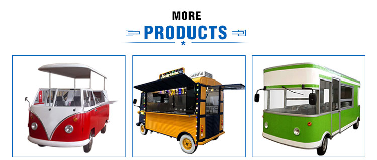 New Design Fashionable Coffee Kiosk Mobile Fast Food Truck