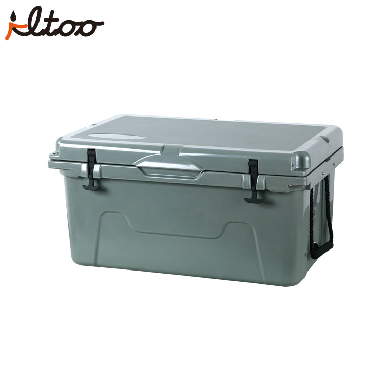 Food Grade LLDPE Material Roto-molded ice cooler box 50QT plastic cooler box