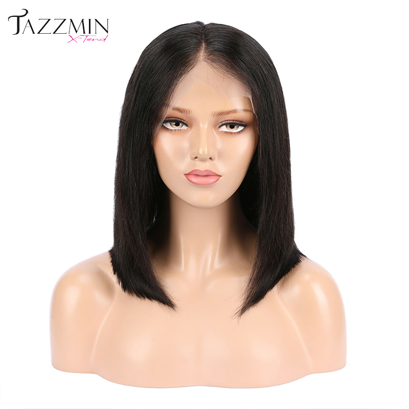 Cheap price Natural color straight brazilian human hair lace wig women aligned cuticle unprocessed hair wig