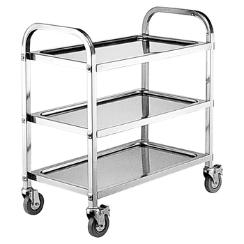 Beautiful Hotel Room Service Kitchen Snack Food Dining Cart Trolley