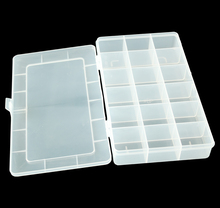 plastic ammo can compartment 18 cells storage box