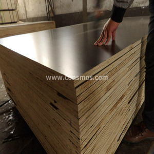 Single side film faced plywood, another side with bintangor, Europe standard