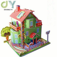 3D creative paper puzzle wholesale christmas gifts diy puzzle children's educational toys