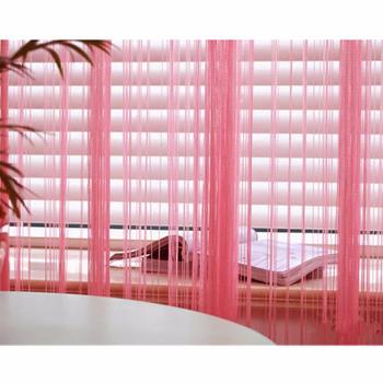 Christmas Whole 3m X Hot Pink Window Door Room Home Decor Tel Drape Panel Strings