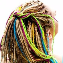 tightly fashion cool single ended dreadlocks for young group
